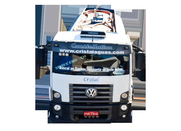 Caminhão Pipa Cristal Águas